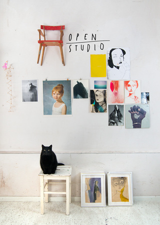 Join us for OPEN STUDIO Gallery Weekend Berlin Saturday April 28th, 2-6 p.m. RSVP